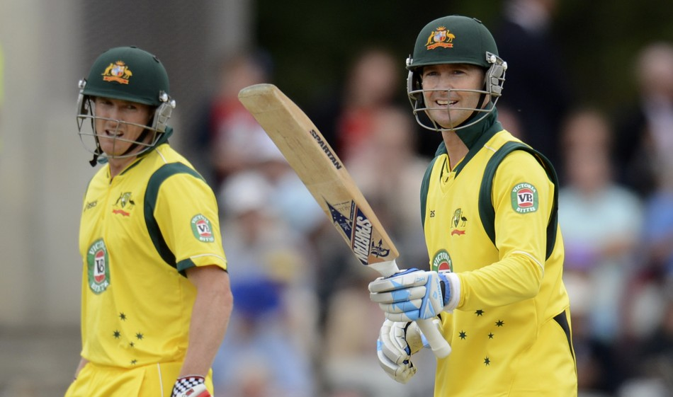 George Bailey and Michael Clarke