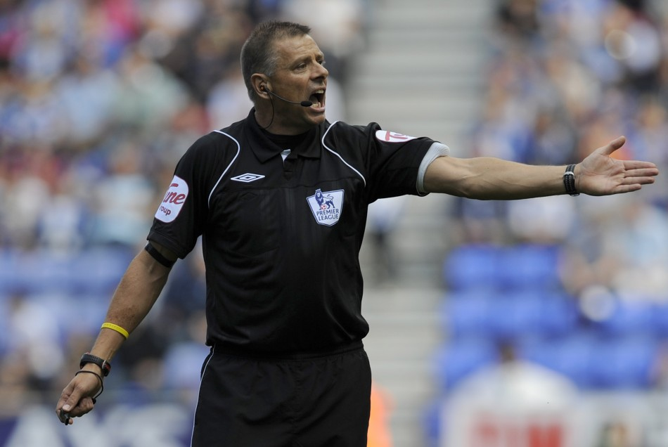 Mark Halsey refereed top-flight Premier League matches for 14 years and suffered for it PIC: Reuters