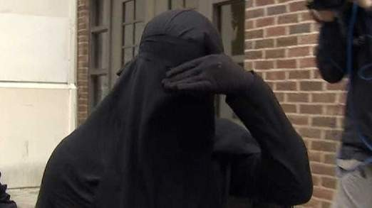 Muslim defendent wins right to cover face in court in landmark ruling PIC: Sky