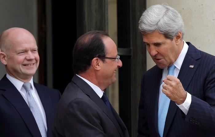 Hague Hollande Kerry