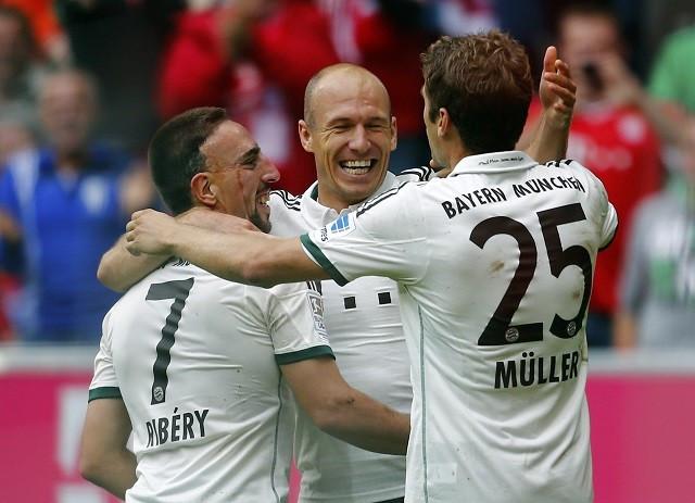 Bayern Munich Robben Muller Ribery
