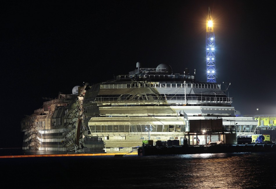 Costa Concordia salvage operation