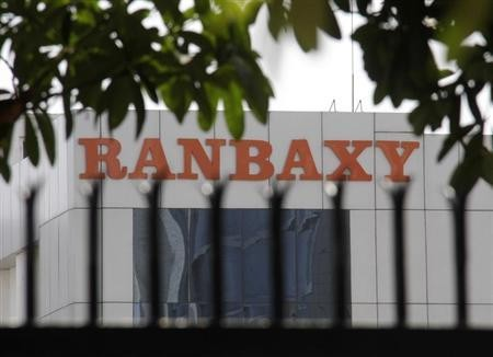 A Ranbaxy office building is pictured in Mohali