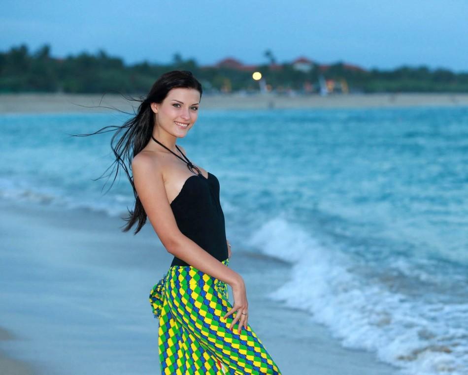 Miss World Moldova 2013, Valeriya Tsurkan (Photo: Miss World Organisation)