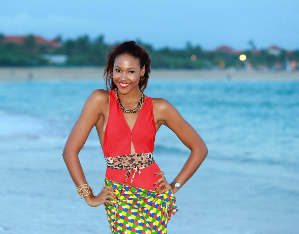 Miss World Jamaica 2013, Gina Hargitay (Photo: Miss World Organisation)