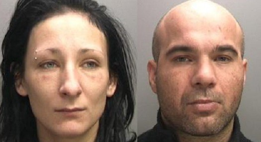 Magdelena Luczak (L) and Mariusz Krezolek are currently serving a life sentence for murdering Daniel (West Midlands Police)