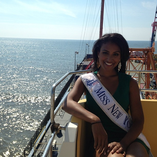 Miss America Nina Davuluri, the Target of Racist Abuse/Facebook/NinaDavuluriMNY