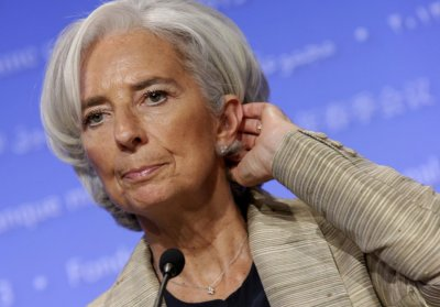 Christine Largarde, Managing Director of the International Monetary Fund