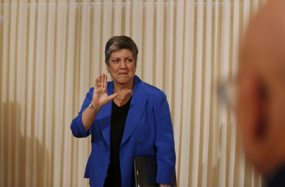 Janet Napolitano, Secretary, Department of Homeland Security, United States.