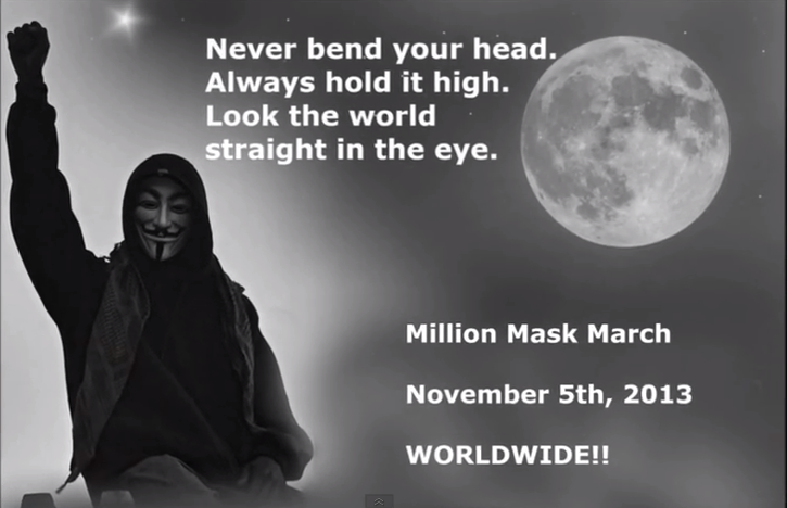 Shift Anonymous in Strategy Highlights March Mask Million