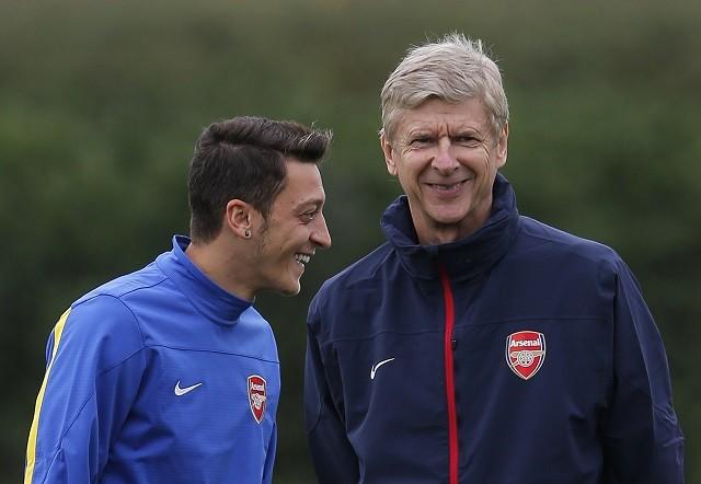 Arsenal Wenger Ozil