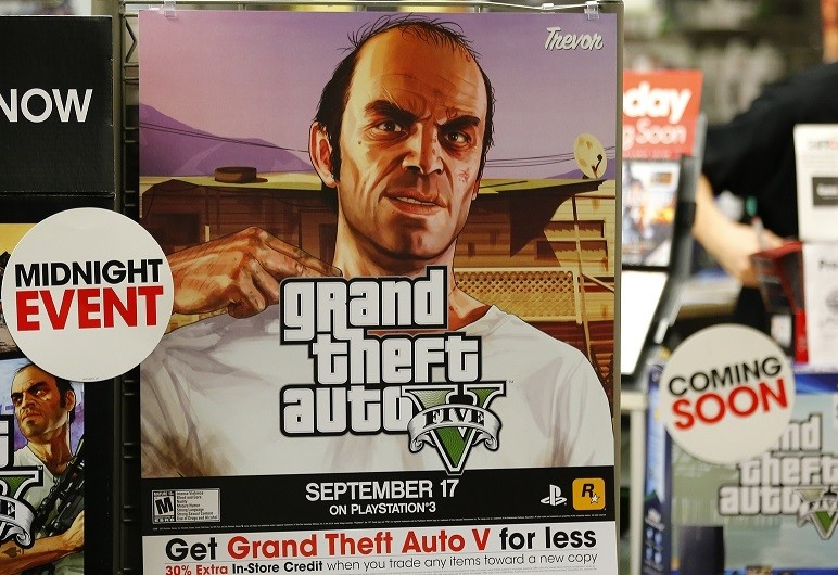 Grand Theft Auto V releases motivates robbery in London PIC: Reuters