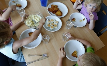 Free school meals from September (Reuters)
