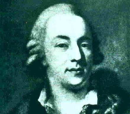 Portrait of Giacomo Casanova