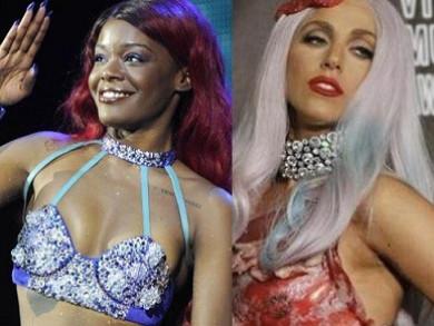 Azealia Banks and Lady GaGa