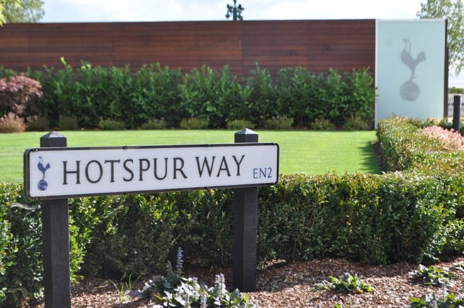 Tottenham Hotspur's futuristic training complex, near where man allegedly attempted sex with sheep