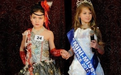 France's mini-Miss pageants would be banned under the new proposals (Facebook)