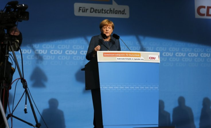 Does Angela Merkel choose Germany or Europe?