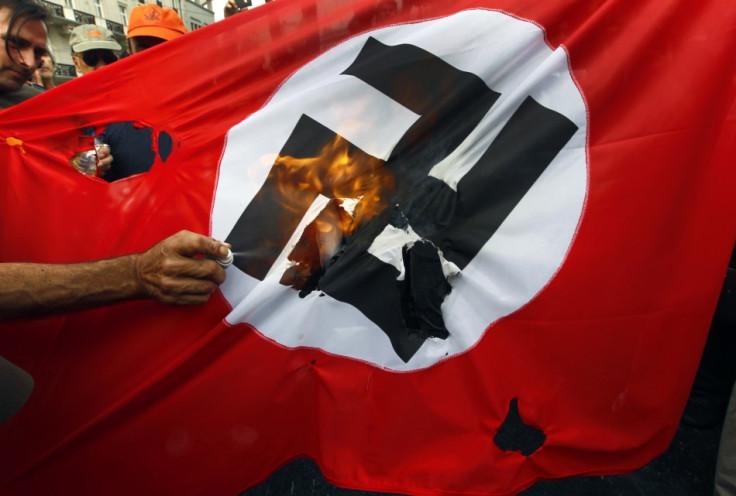 The Nazi past always looms