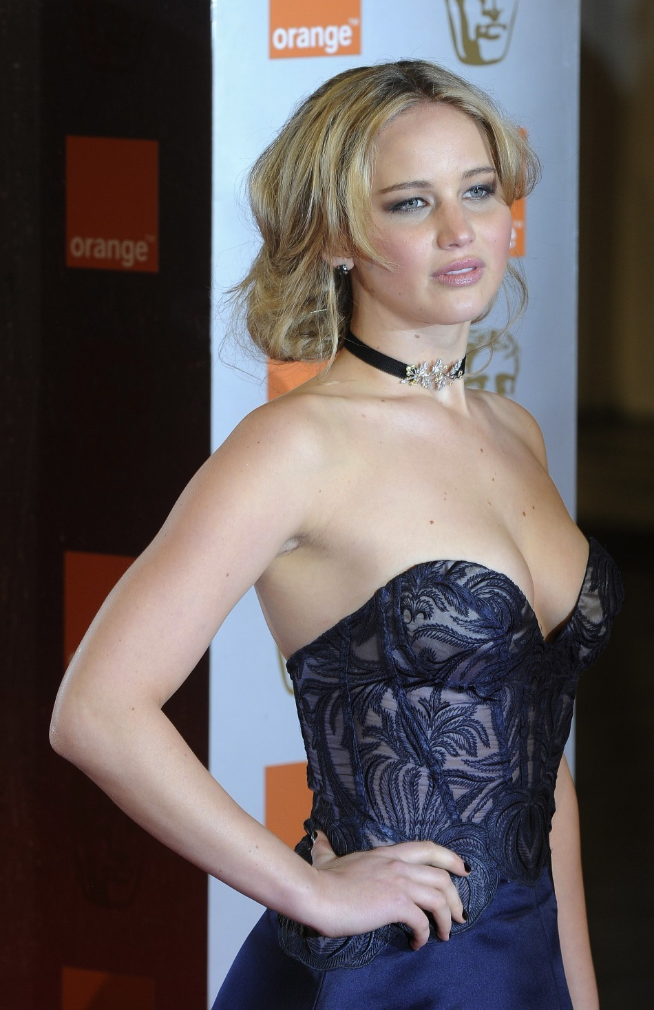 Silver Linings Playbook star Jennifer Lawrence has bagged the second place/Reuters