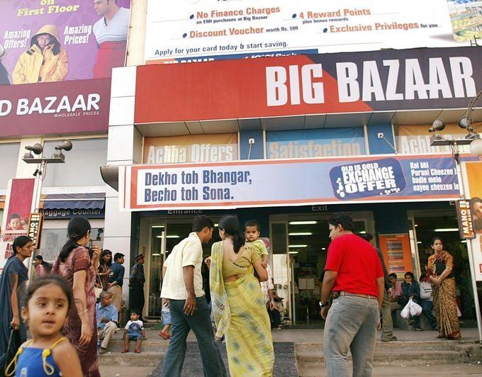 India retail rents