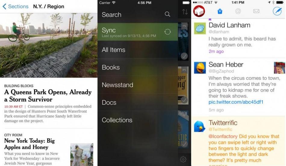 iOS 7 apps