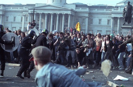 Poll tax riots helped bring down Thatcher