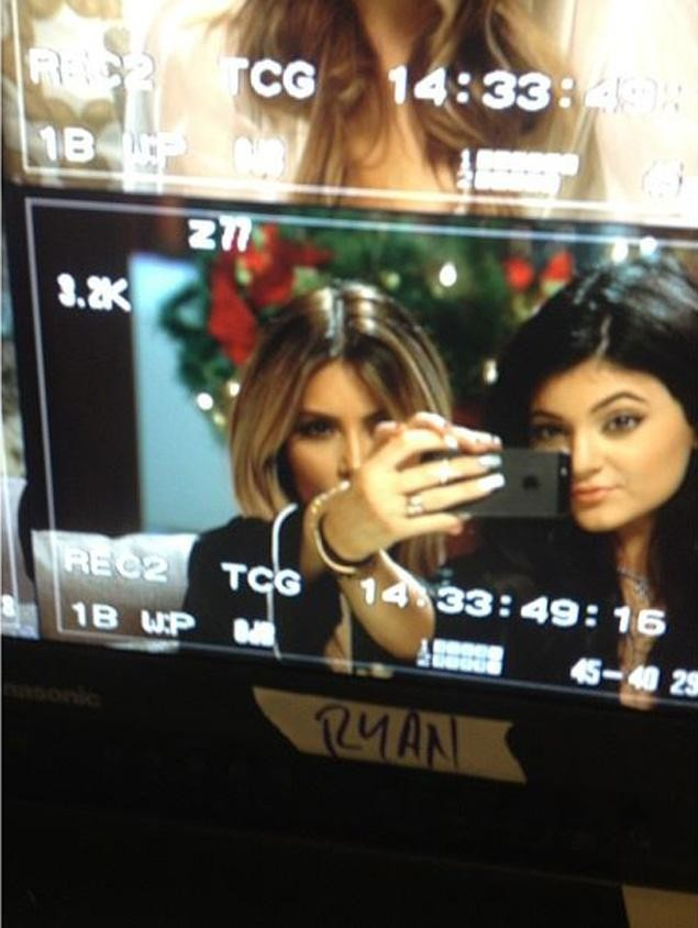Kim is seen with Kylie in one of the pictures/Instagram/KimKardashian