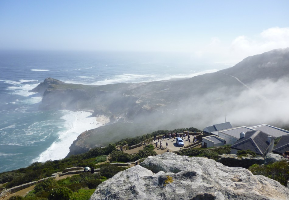 Collision of the seas at South Africa's Cape Point
