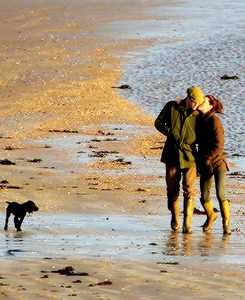 Prince William and Kate Middleton in Anglesey
