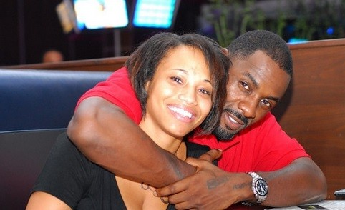 Desiree Newberry and Idris Elba
