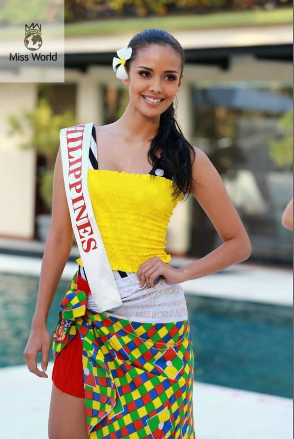 Miss Philippines 2013:Megan Young[Facebook/MissWorld]