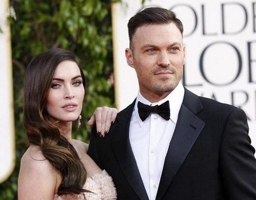 Megan Fox and her husband Brian Austin Green