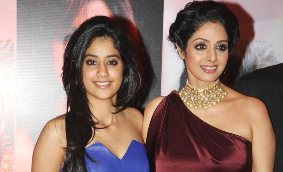 She is married to one of India's leading filmmakers, Boney Kapoor and the couple have two daughters. She is seen here with her older daughter Jhanvi Kapoor[Facebook/Sridevi]