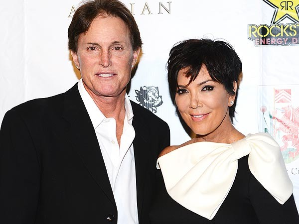 Bruce and Kris Jenner