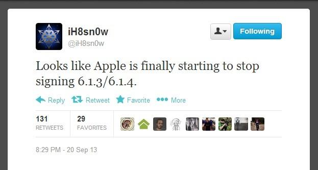 iOS 6.1.3/iOS 6.1.4