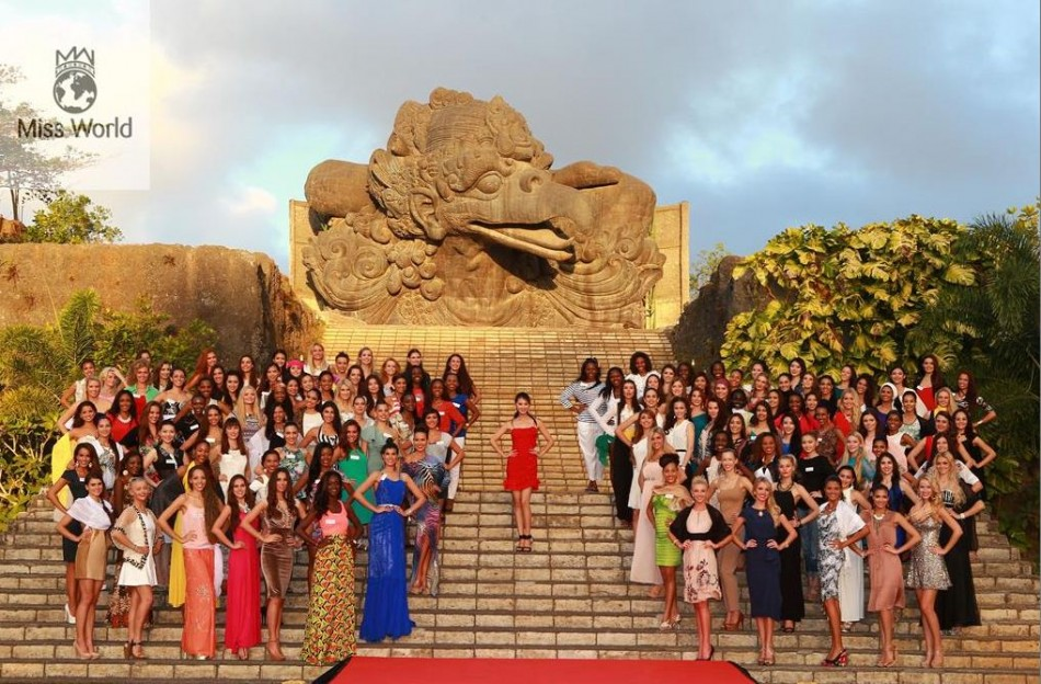 Miss World contestants celebrated world peace day today