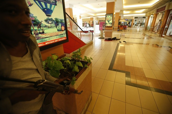 Armed police search Westgate shopping mall, Nairobi
