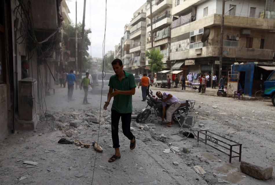 Syria chemical arsenel