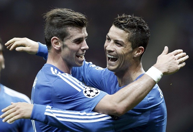 Gareth Bale-Cristiano Ronaldo