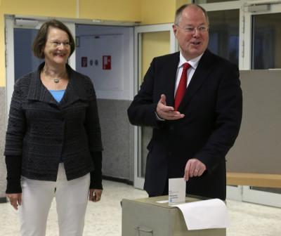 Peer Steinbrck vote