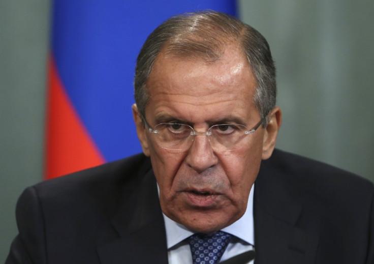 Sergey Lavrov Syria