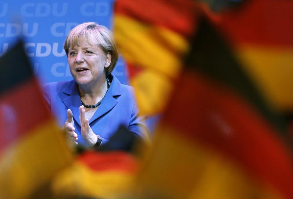 Angela Merkel wins