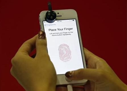 Apple iPhone 5S Fingerprint 'Touch ID'