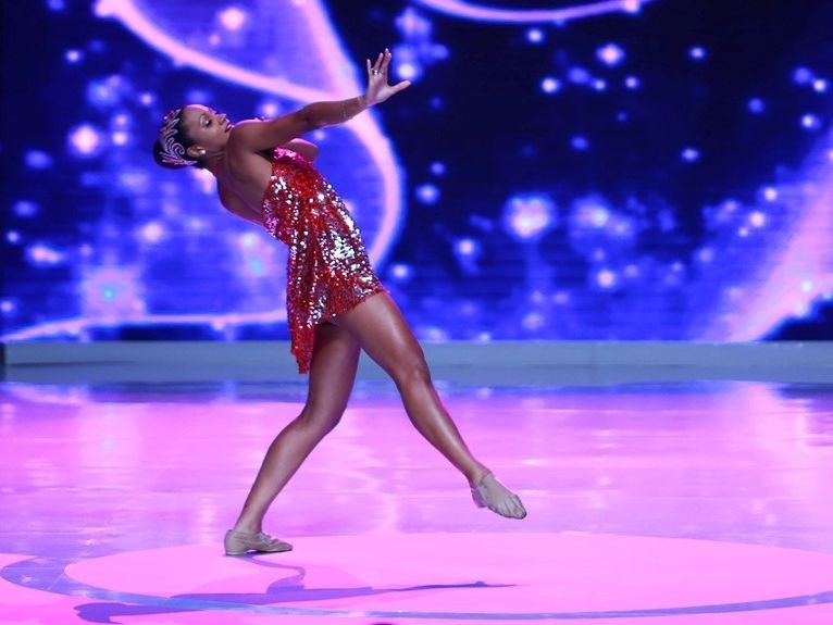 Miss Canada presented a contemporary dance performance. (Photo: Miss World Organisation)