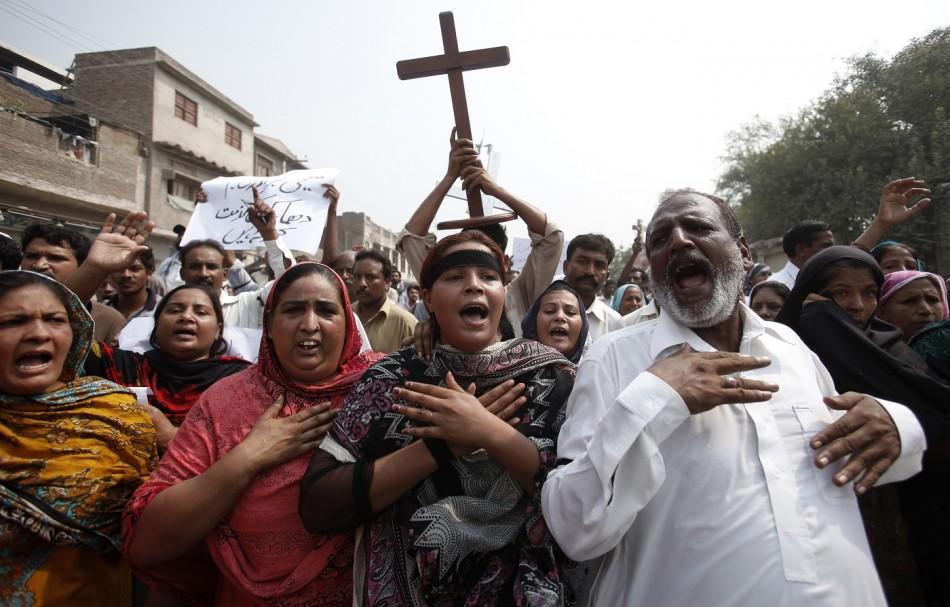 Pakistan Christians Bomb