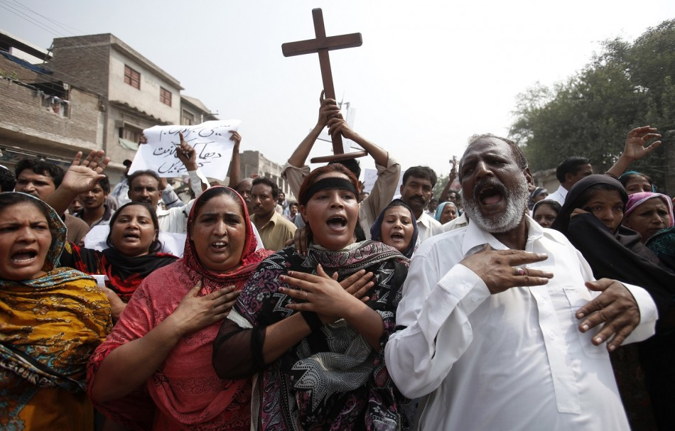 Pakistan Christians Bomb