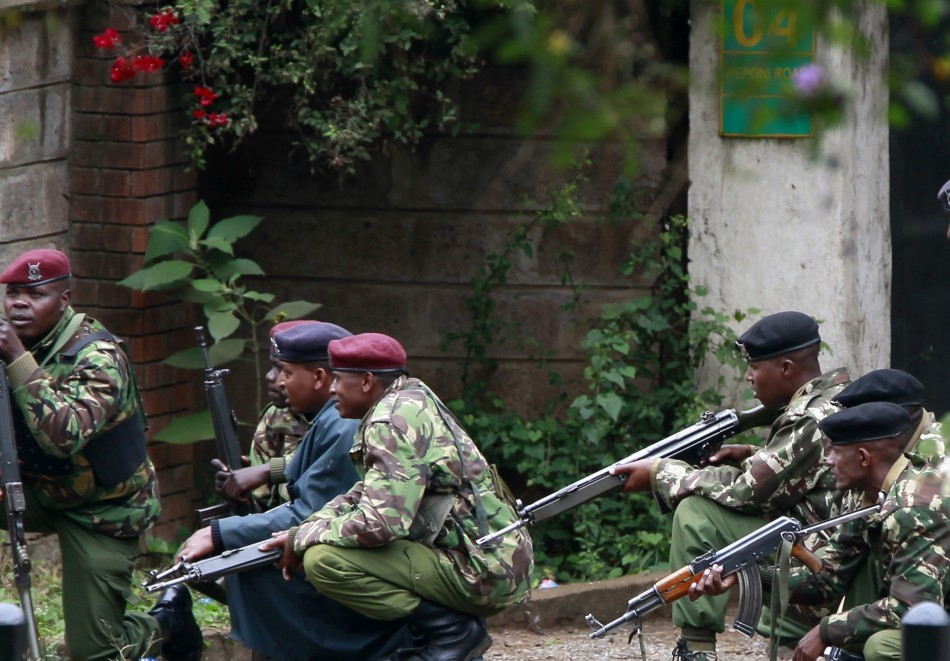 Kenyan security forces move in on al-Shabaab militants in Nairobi's Westgate shopping mall (Reuters)