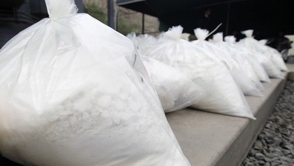 The cocaine is estimated to have a street value of £170m (Reuters)