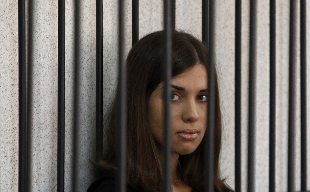 Pussy Riot's Nadezhda Tolokonnikova is beginning a hunger strike to protest harsh working conditions at her prison (Reuters)